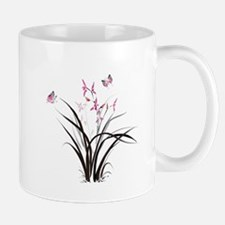 Chinese Orchids Mugs