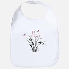 Chinese Orchids Bib