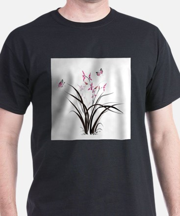 Chinese Orchids T-Shirt