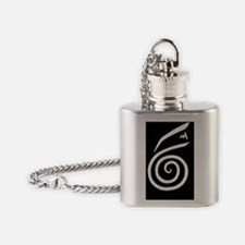 Cute Designs and symbols Flask Necklace