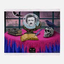 THE SPIRIT OF EDGAR ALLAN POE Throw Blanket