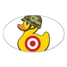 Army Duck Decal