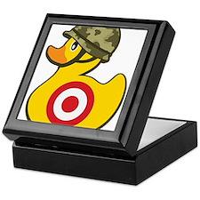Army Duck Keepsake Box