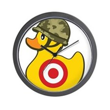 Army Duck Wall Clock