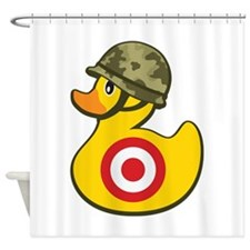 Army Duck Shower Curtain