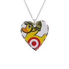Army Duck Necklace