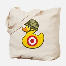 Army Duck Tote Bag