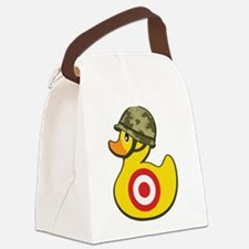 Army Duck Canvas Lunch Bag