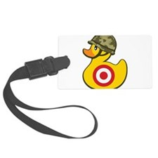 Army Duck Luggage Tag