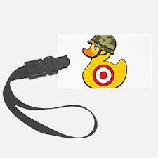 Army Duck Luggage Tag