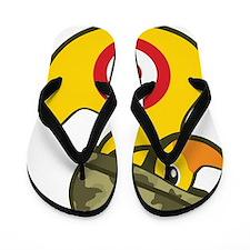 Army Duck Flip Flops