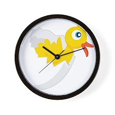 Duck in Egg-2 Wall Clock