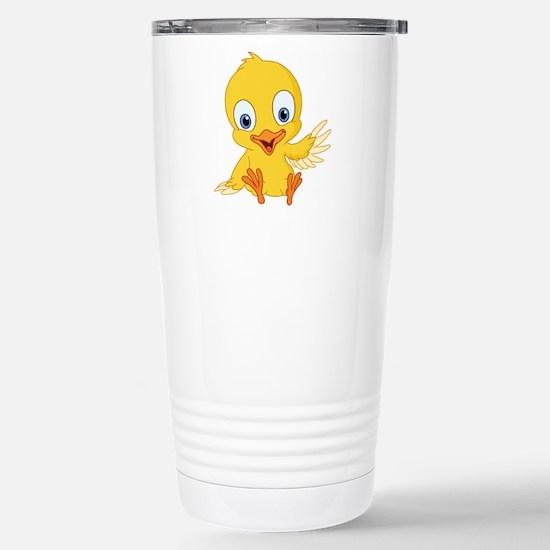 Cartoon Duck-2 Travel Mug