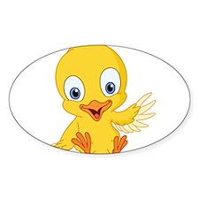 Cartoon Duck-2 Decal
