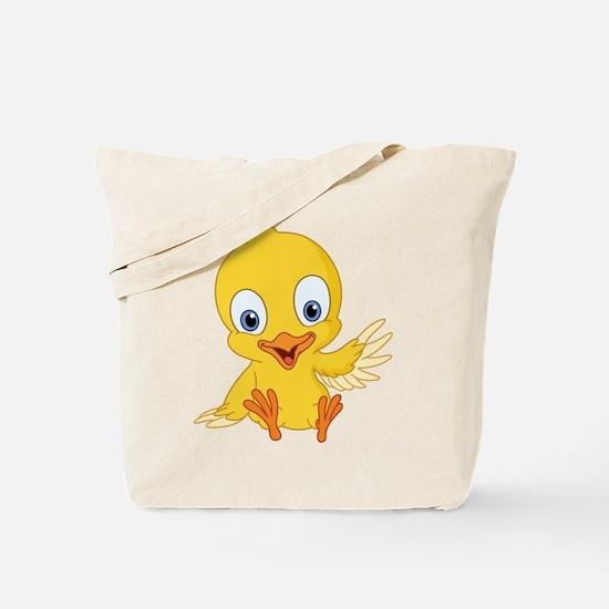 Cartoon Duck-2 Tote Bag