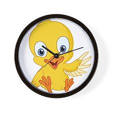 Cartoon Duck-2 Wall Clock