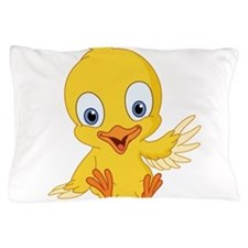 Cartoon Duck-2 Pillow Case