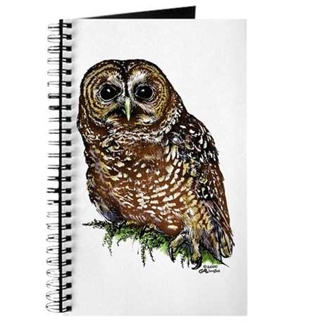 Spotted Owl Sketching Journal