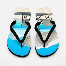 Beach Vacation Flip Flops