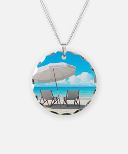 Beach Vacation Necklace