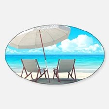 Beach Vacation Decal