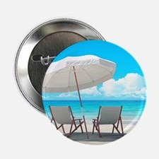 "Beach Vacation 2.25"" Button"