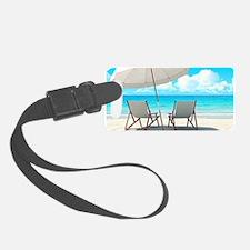 Beach Vacation Luggage Tag
