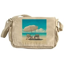 Beach Vacation Messenger Bag
