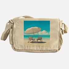 Beach Vacation Messenger Bag
