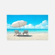 Beach Vacation 3'x5' Area Rug