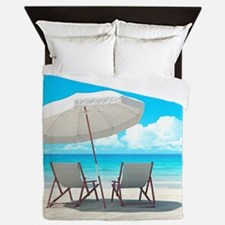 Beach Vacation Queen Duvet
