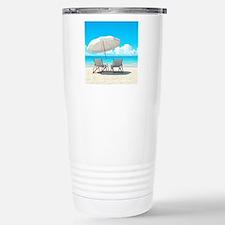 Beach Vacation Travel Mug