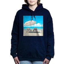Beach Vacation Women's Hooded Sweatshirt