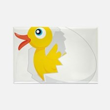 Duck in Egg Magnets