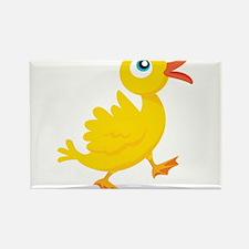 Cartoon Rubbe Duckie-2 Magnets