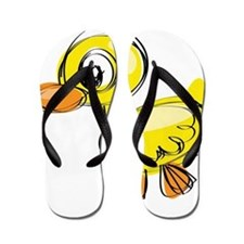 Sketched Duck Flip Flops