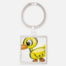 Sketched Duck Keychains