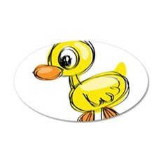 Sketched Duck Wall Decal