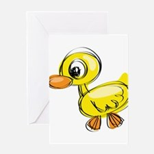 Sketched Duck Greeting Cards