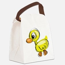 Sketched Duck Canvas Lunch Bag