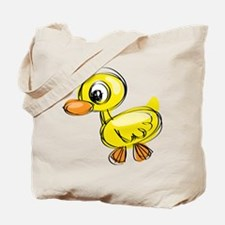 Sketched Duck Tote Bag