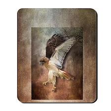 Evening Hawk Mousepad
