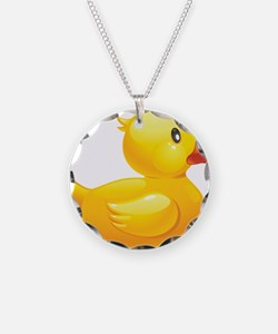 Rubber Duckie Necklace