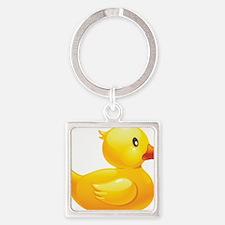 Rubber Duckie Keychains