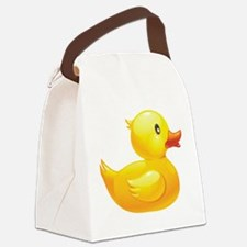 Rubber Duckie Canvas Lunch Bag