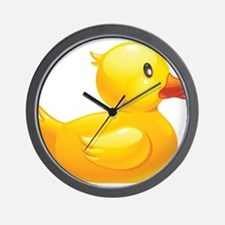 Rubber Duckie Wall Clock