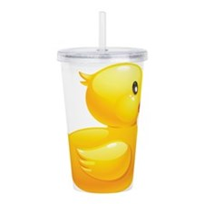Rubber Duckie Acrylic Double-wall Tumbler