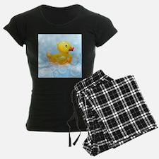 Duck in Bubbles Pajamas