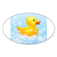 Duck in Bubbles Decal