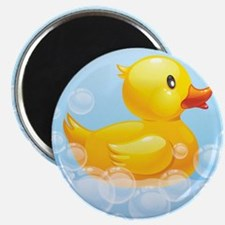 Duck in Bubbles Magnets